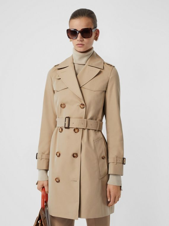Trench coat corto Islington (Miele)