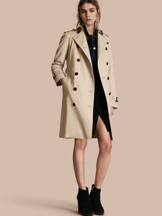 The Westminster – Long Heritage Trench Coat Stone