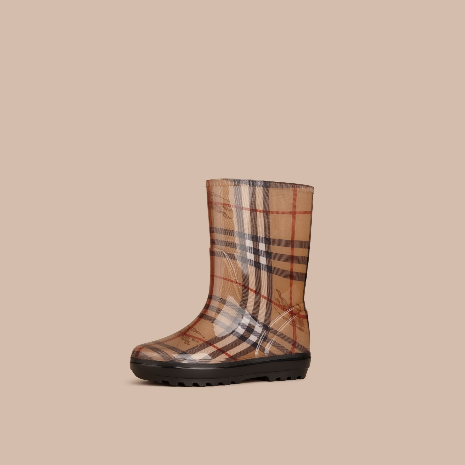 Classic Check Rain Boots - gallery image 1