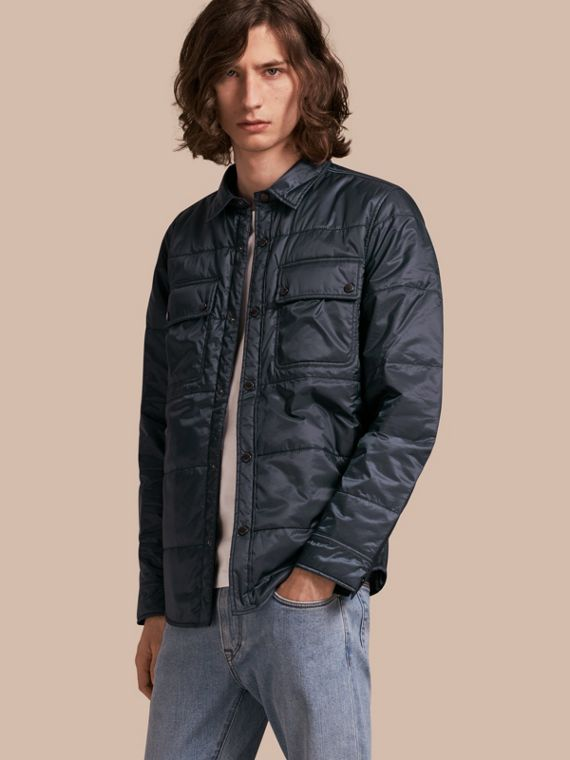 Quilted Technical Shirt