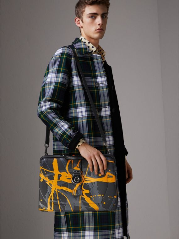 The DK88 Splash Doctor's Bag in Black/splash - Men | Burberry Singapore - cell image 2