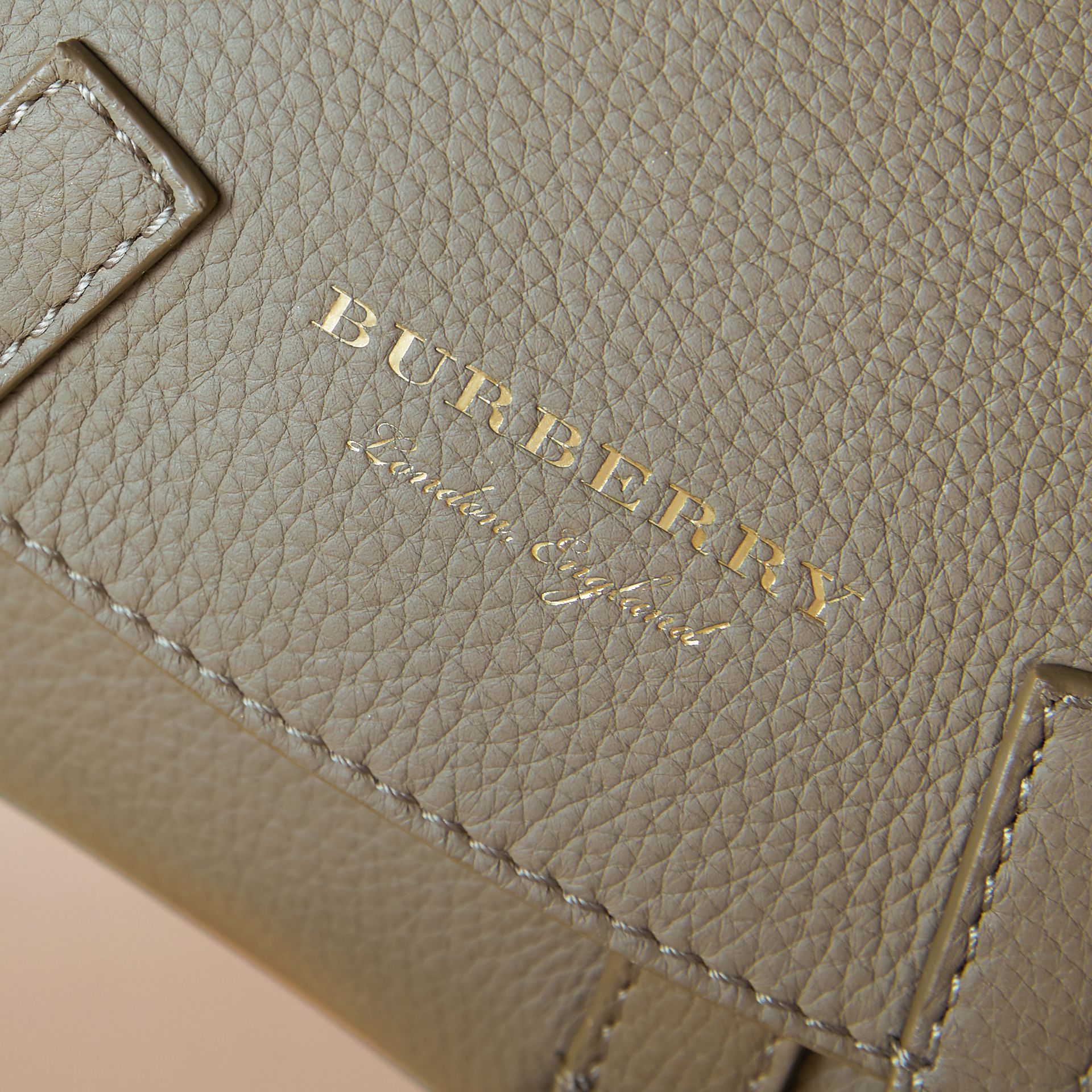 The Bridle Crossbody Bag in Deerskin in Slate Green - Women | Burberry Australia - gallery image 6