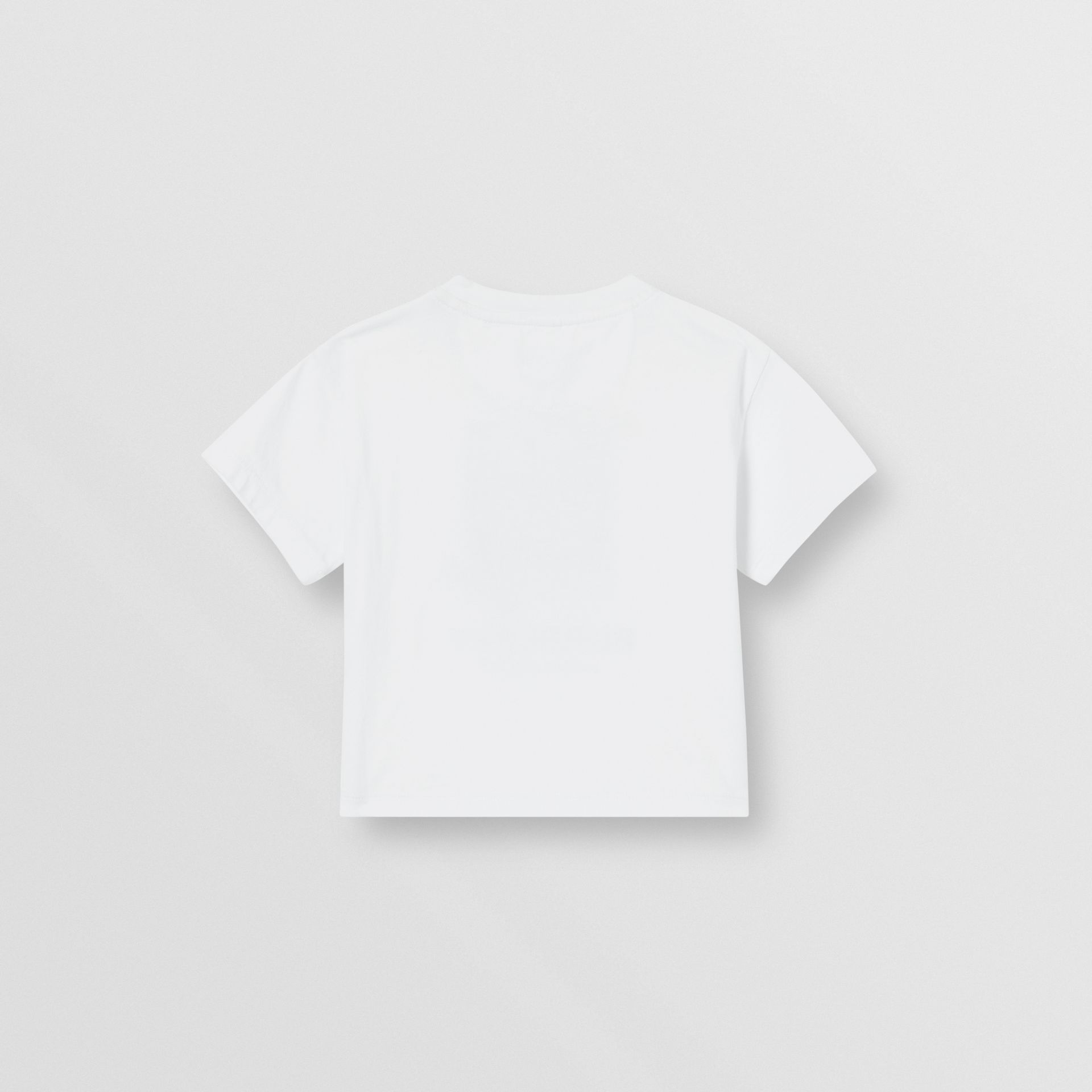 Vintage Polaroid Print Cotton T-shirt in White - Children | Burberry United Kingdom - gallery image 3