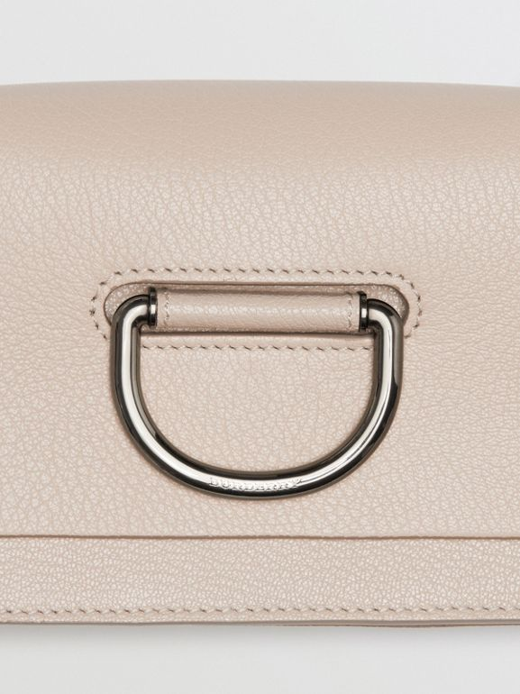 The Mini Leather D-ring Bag in Stone - Women | Burberry Canada - cell image 1