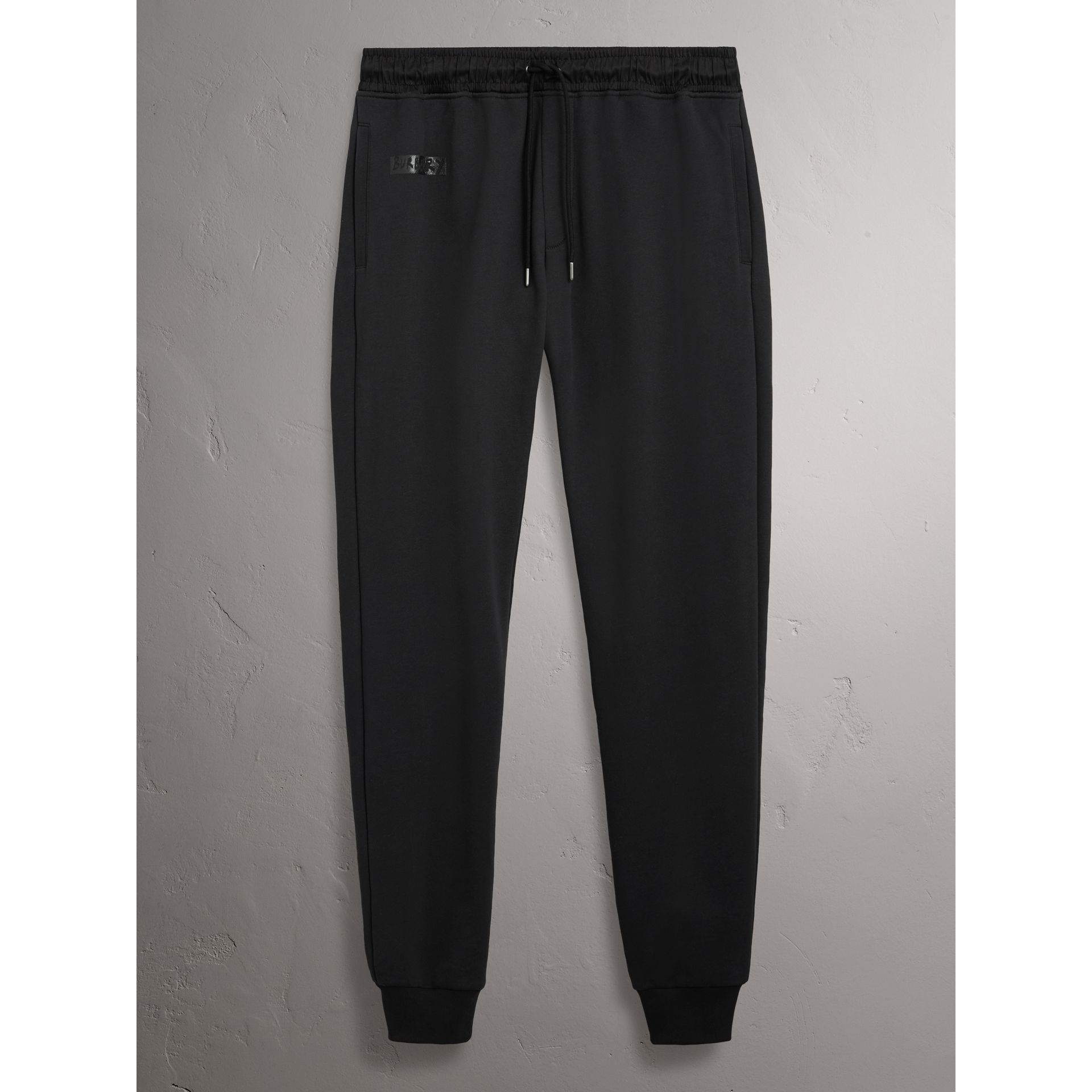 Burberry x Kris Wu Sweatpants in Black - Men | Burberry United Kingdom - gallery image 3