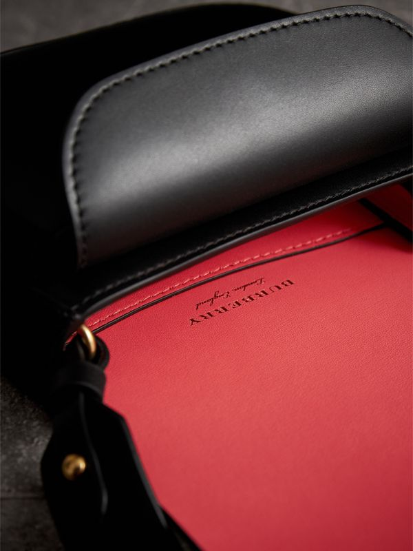 The Satchel in Bridle Leather in Black - Women | Burberry - cell image 3