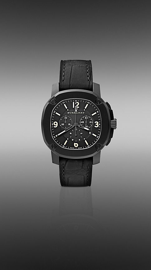 Black The Britain BBY1103 47mm Chronograph - Image 1