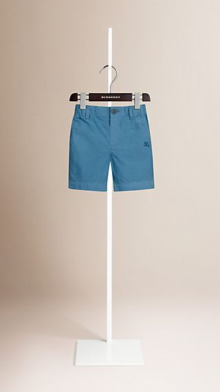 Cotton Military Chino Shorts