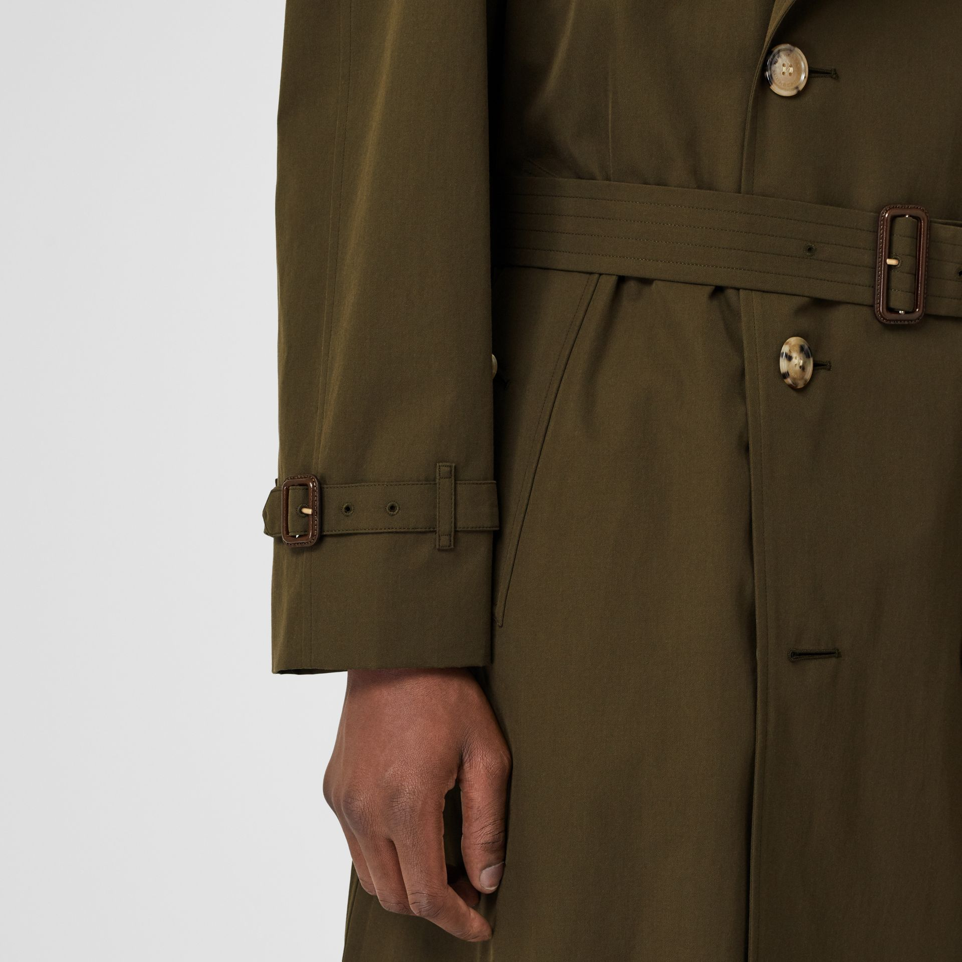 The Westminster Heritage Trench Coat in Dark Military Khaki - Men | Burberry United Kingdom - gallery image 4