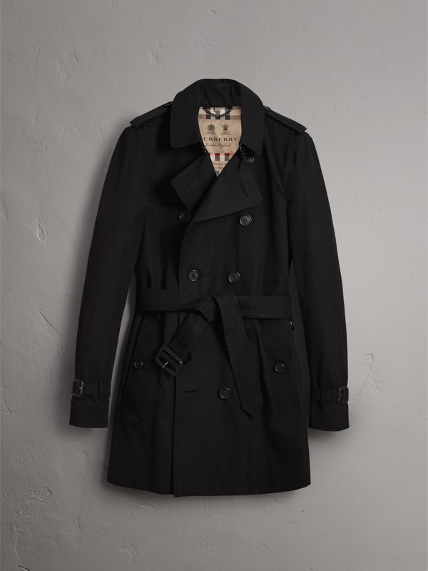 The Sandringham – Mid-length Trench Coat in Black - Men | Burberry - cell image 3