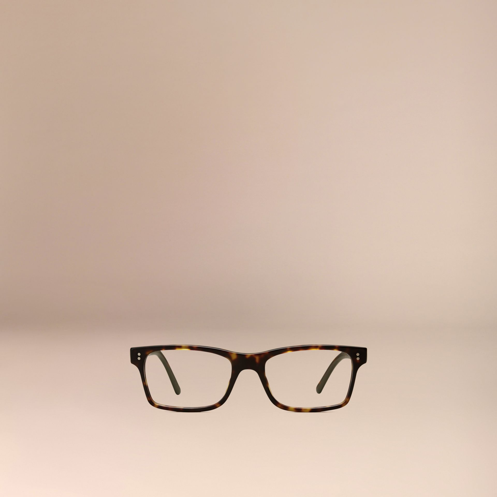 Brown Rectangular Optical Frames Brown - gallery image 5