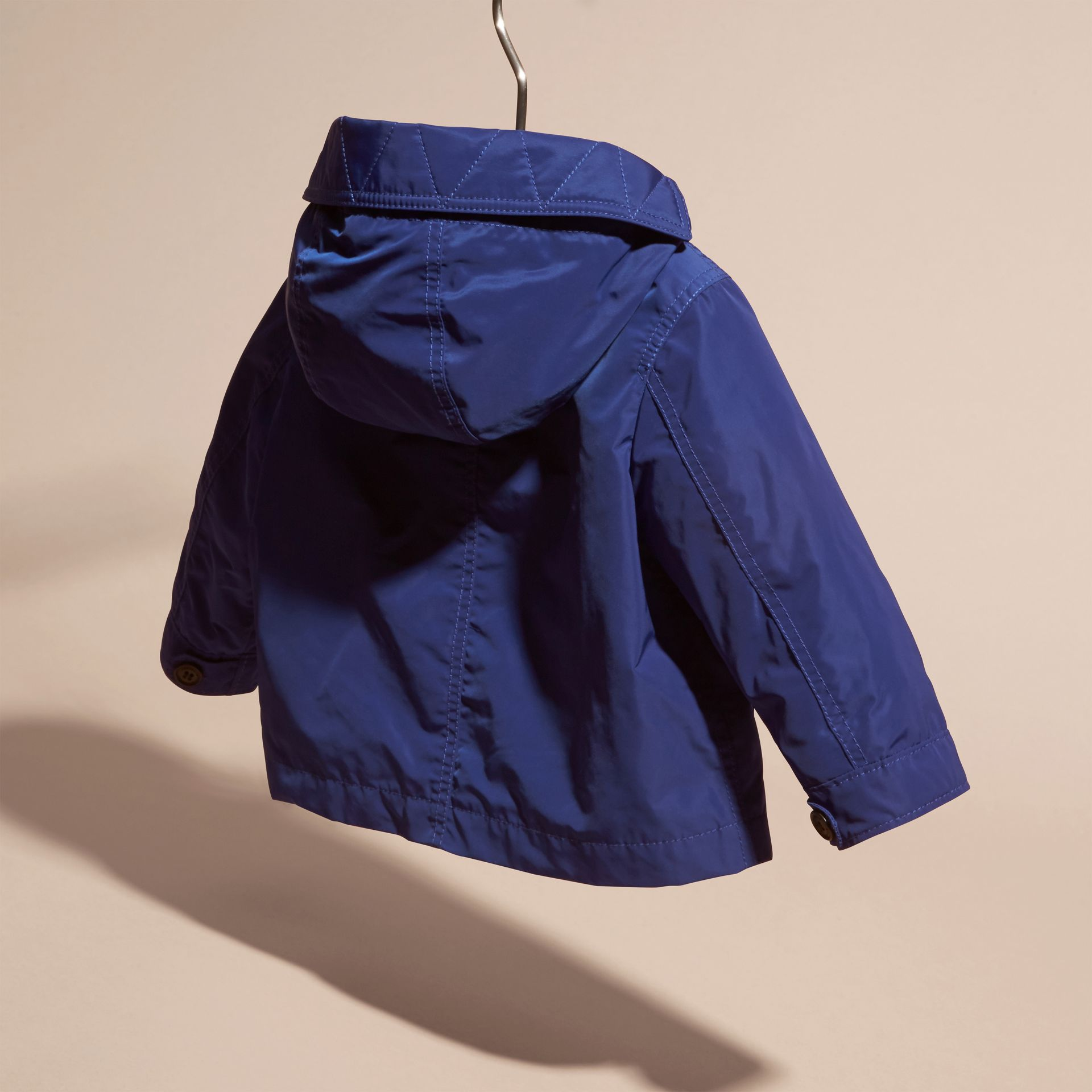Bright lapis Packaway Technical Parka Jacket Bright Lapis - gallery image 4