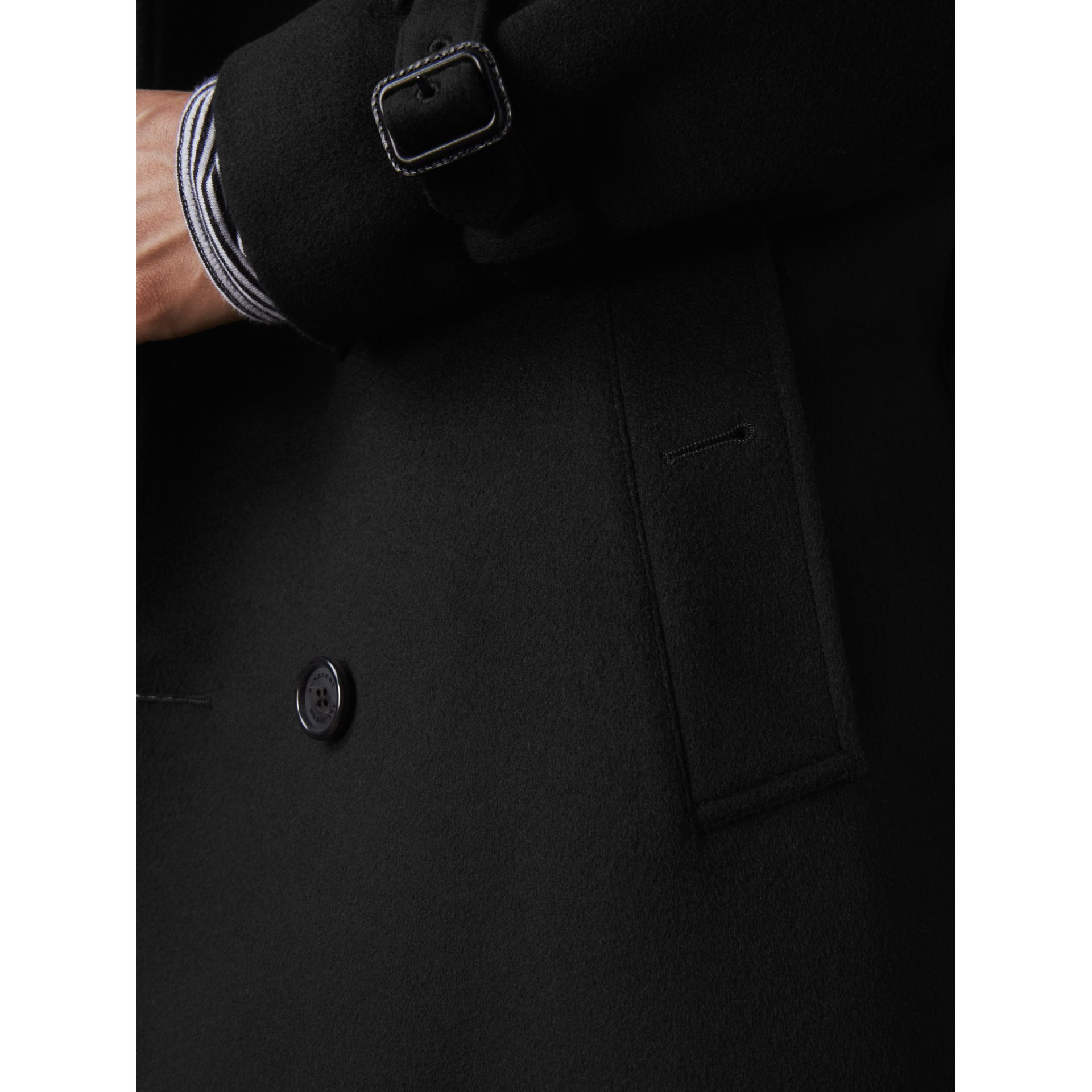 Wool Cashmere Trench Coat - Men | Burberry - gallery image 2