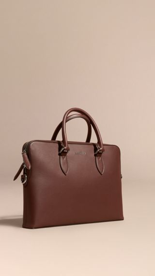 Sac The Barrow en cuir lisse