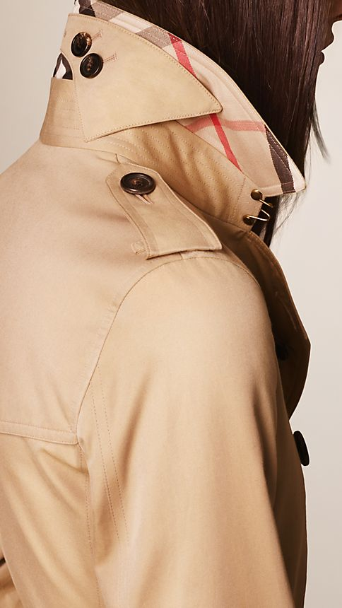 Honey The Kensington - Mid-Length Heritage Trench Coat - Image 3