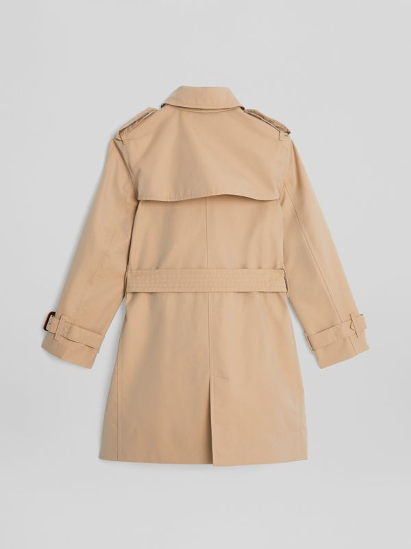 Trench coat in gabardine di cotone (Miele) | Burberry - cell image 3