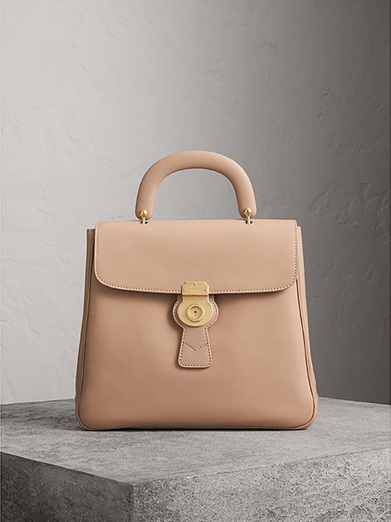 The Large DK88 Top Handle Bag in Honey