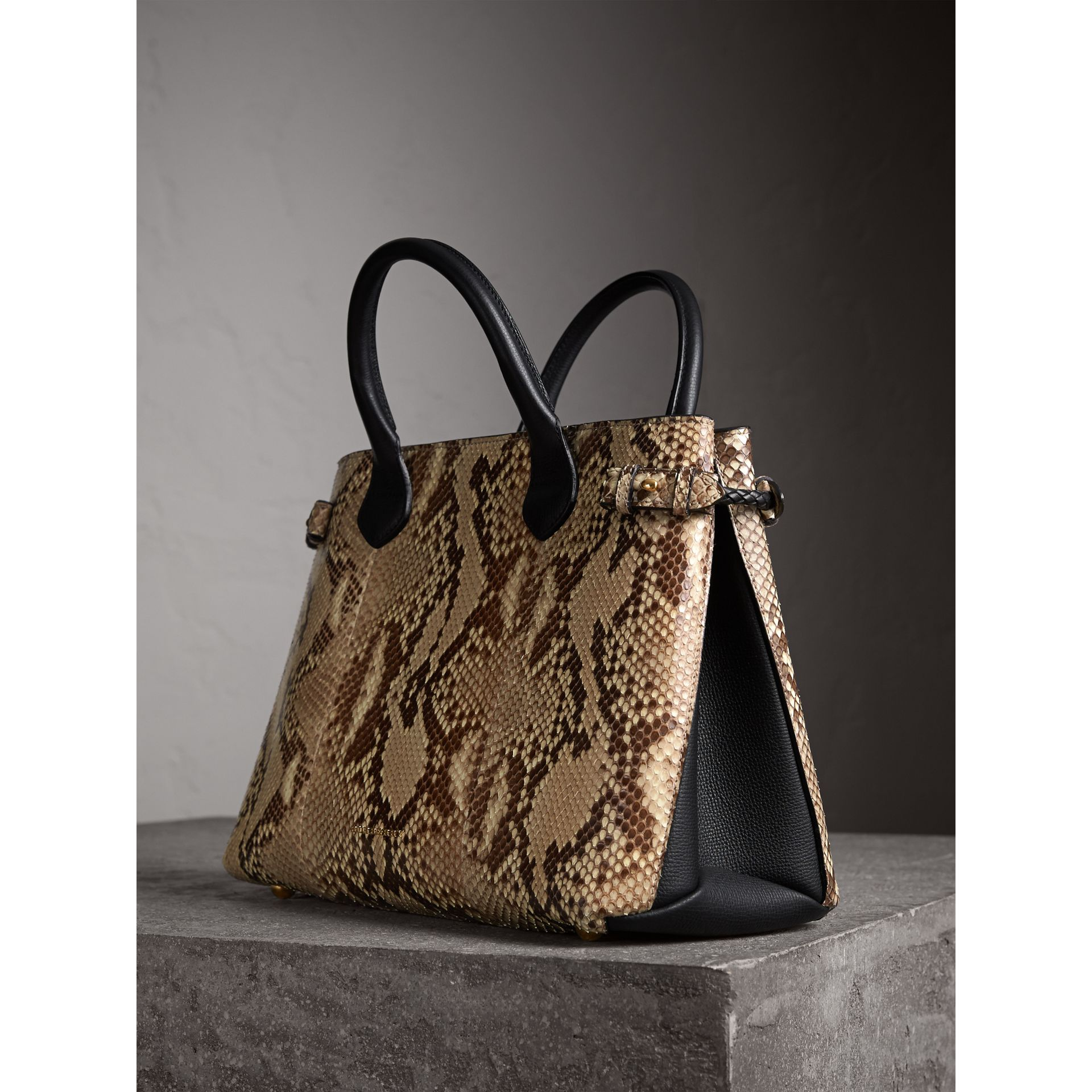 Sac The Banner medium en python - Femme | Burberry - photo de la galerie 7