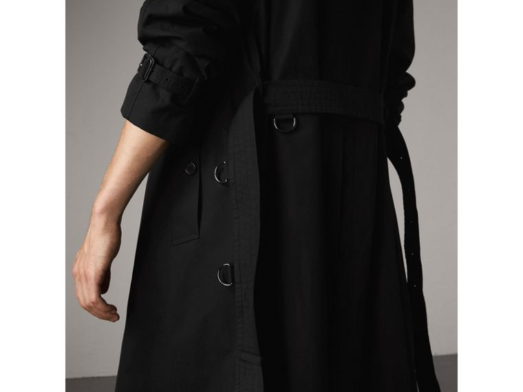 The Westminster – Extra-long Trench Coat in Black - Men | Burberry Australia - cell image 4