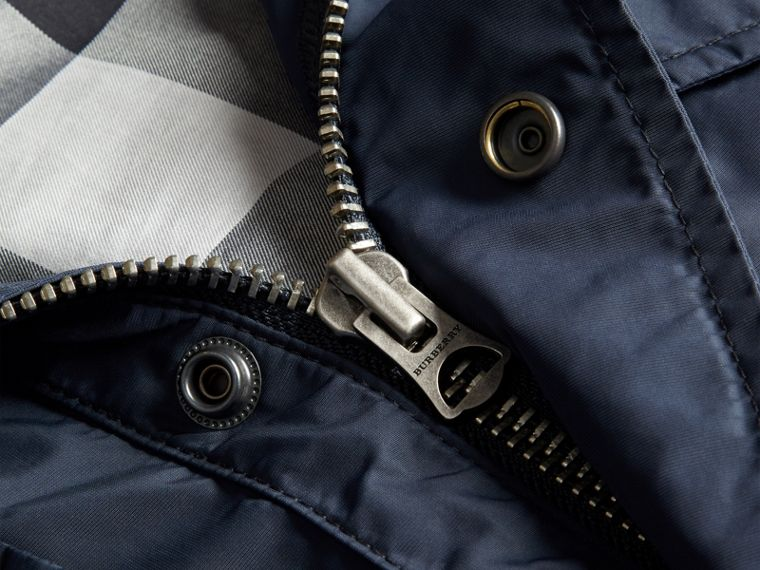 Navy Showerproof Field Jacket - cell image 1