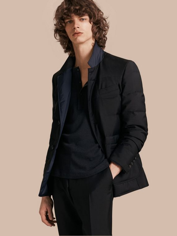 Reversible Down-filled Tailored Jacket