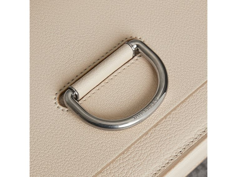 The Medium Leather D-ring Bag in Stone - Women | Burberry Hong Kong - cell image 1