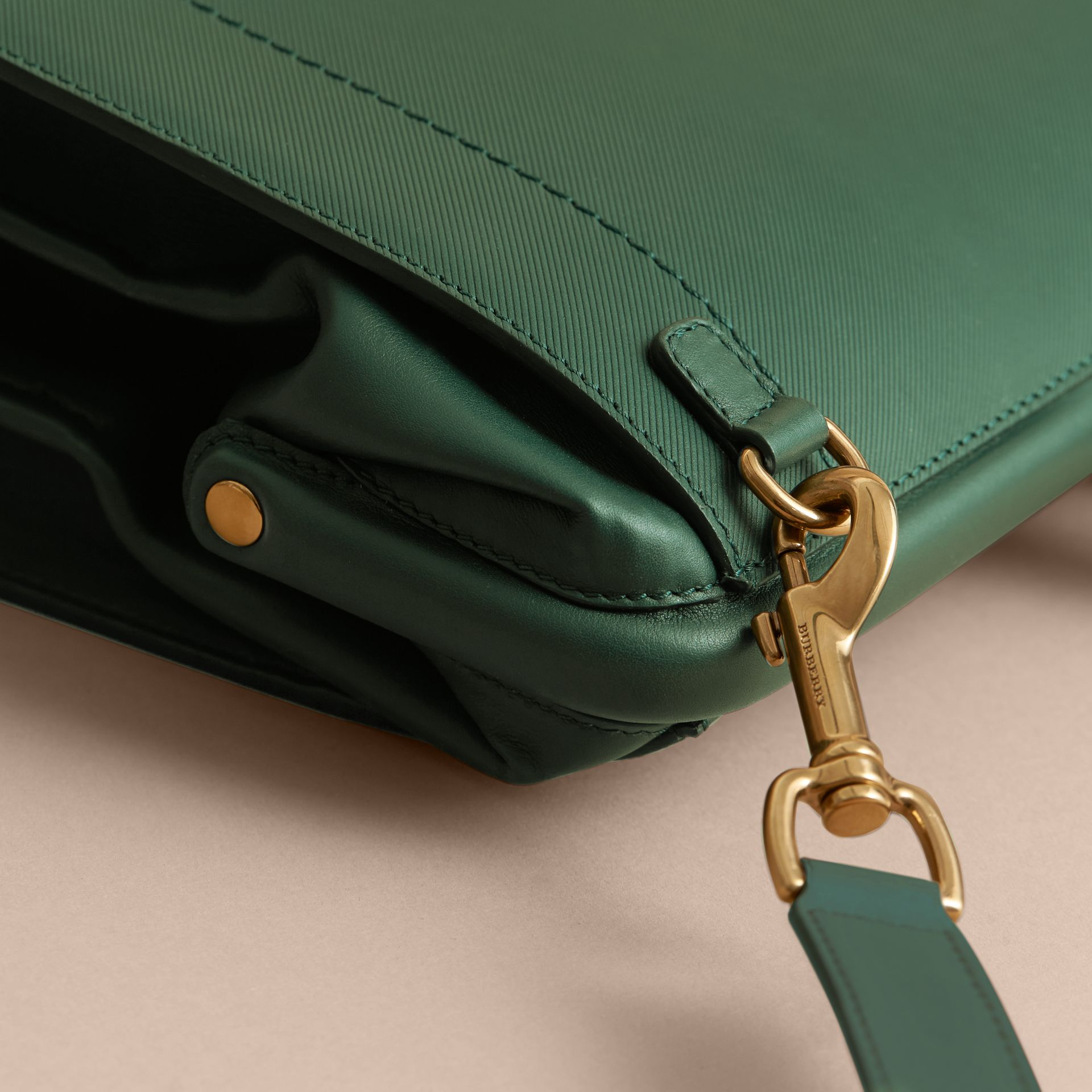 The DK88 Doctor's Bag in Dark Forest Green - Men | Burberry United States - gallery image 5