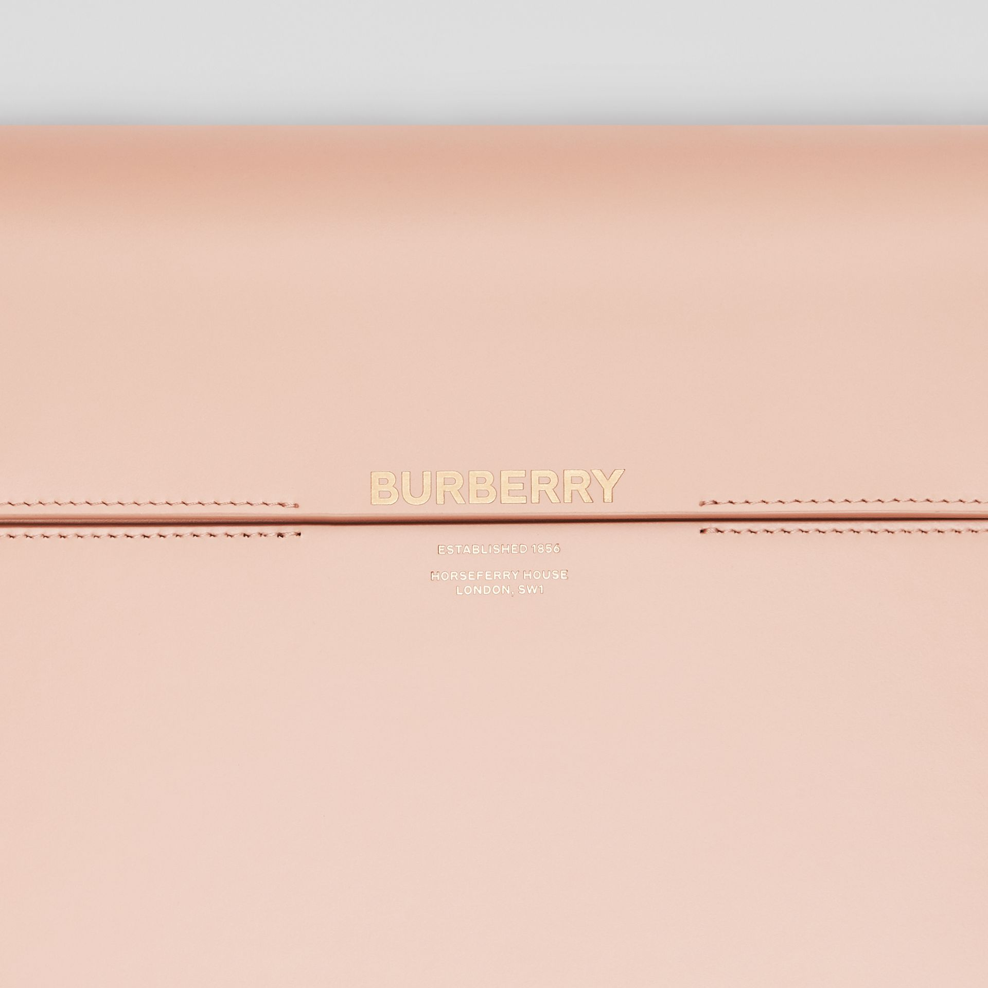 Large Leather Grace Bag in Soft Blush - Women | Burberry United Kingdom - gallery image 1