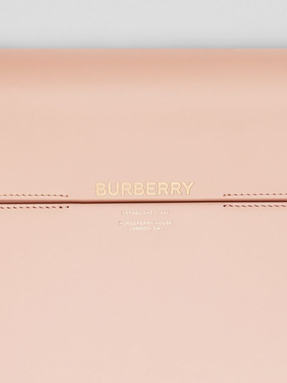 Large Leather Grace Bag in Soft Blush - Women | Burberry United Kingdom - cell image 1