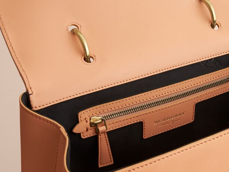 The Large DK88 Top Handle Bag Pale Clementine - cell image 4