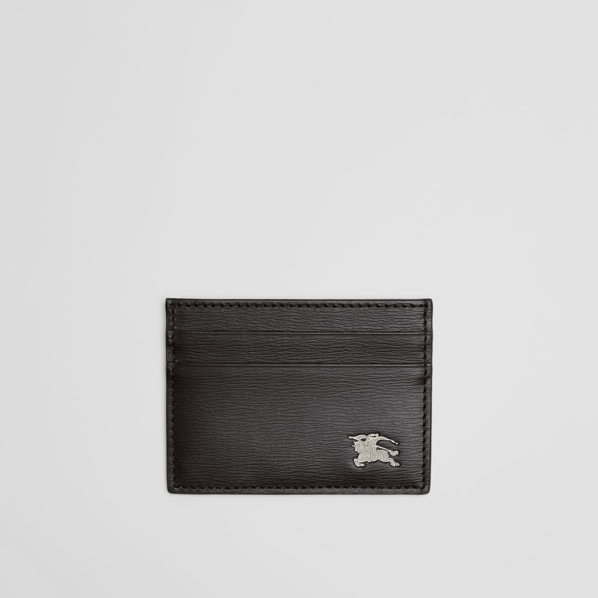 London Leather Card Case in Black - Men | Burberry - gallery image 0
