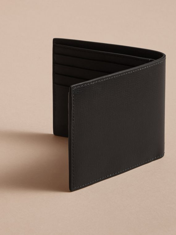 Beasts Motif Leather International Bifold Wallet - Men | Burberry - cell image 3