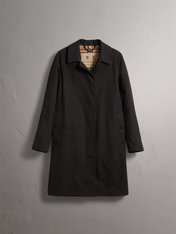 The Camden Car Coat in Black - Women | Burberry - cell image 3