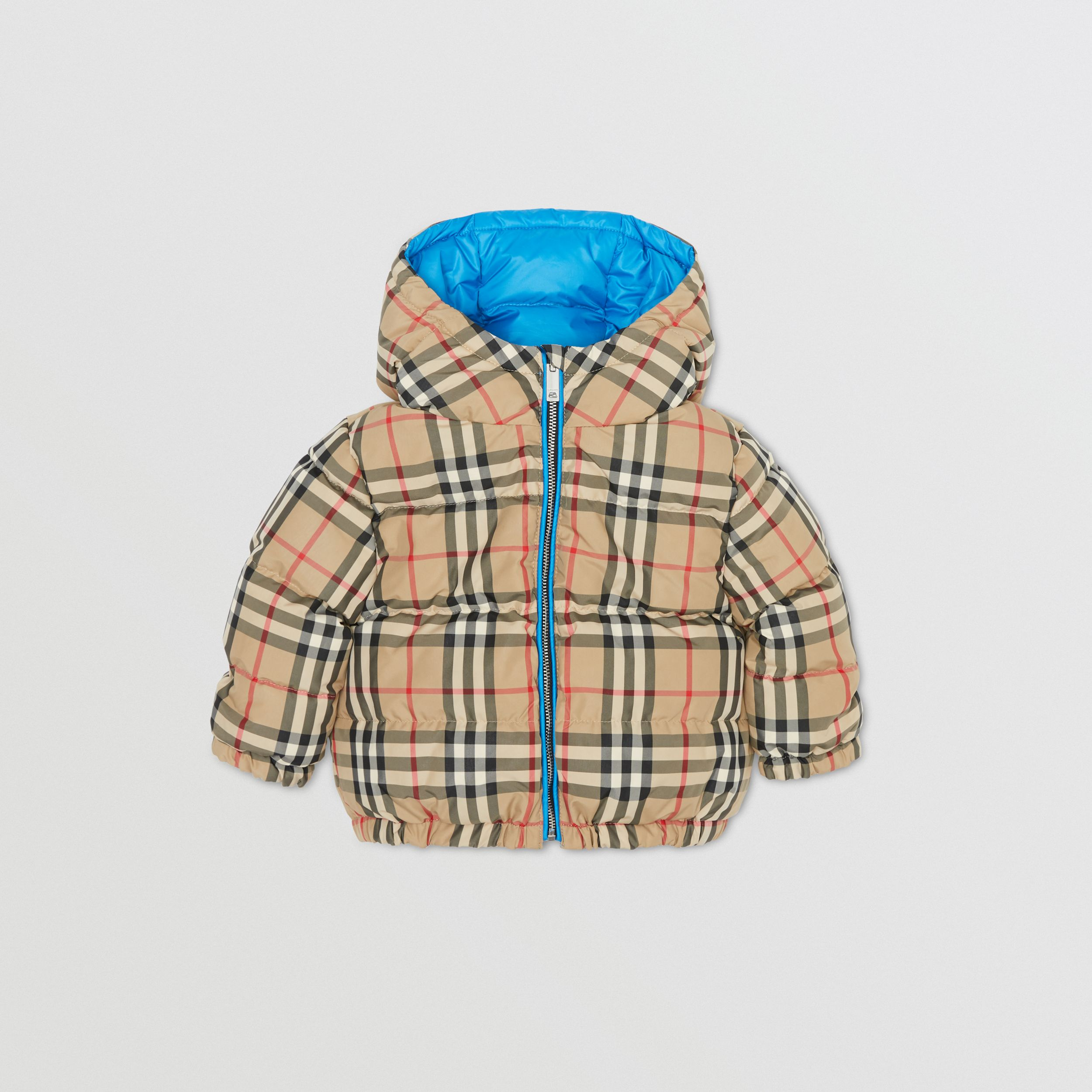 Reversible Vintage Check Puffer Jacket - Children | Burberry United States - 4