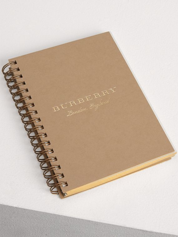 A6 Notebook Refill in Honey | Burberry Singapore - cell image 3