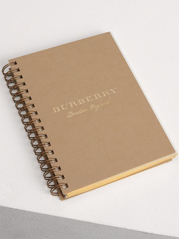 A6 Notebook Refill in Honey | Burberry - cell image 3