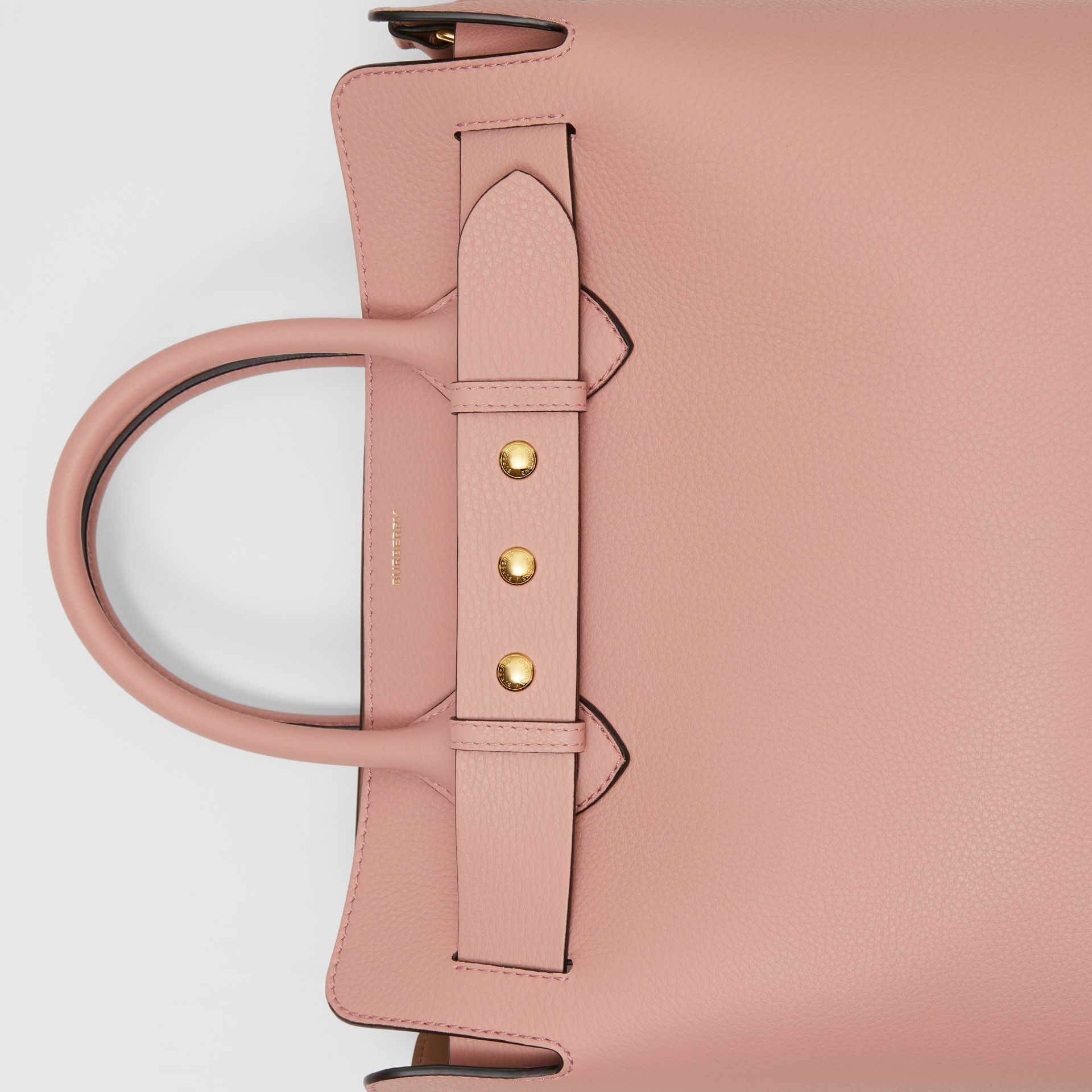 The Medium Leather Triple Stud Belt Bag in Ash Rose - Women | Burberry United States - gallery image 1
