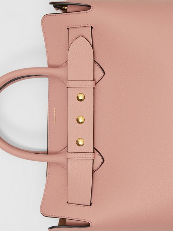 The Medium Leather Triple Stud Belt Bag in Ash Rose - Women | Burberry United States - cell image 1