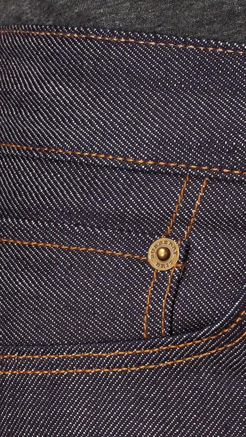 Mid indigo Straight Fit Deep Indigo Jeans - Image 4