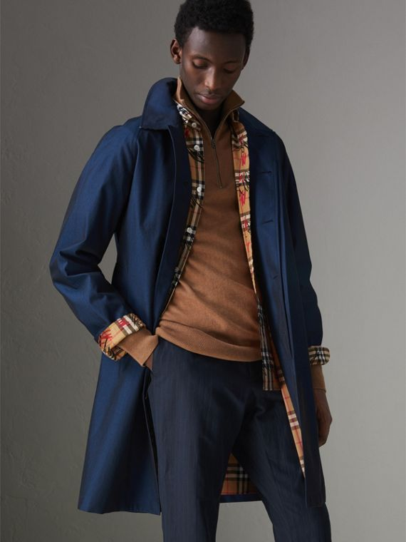 The Camden - Car Coat (Azul Regência Intenso)
