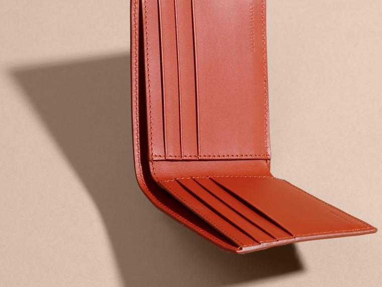 London Leather Slim Folding Wallet Burnt Sienna - cell image 4