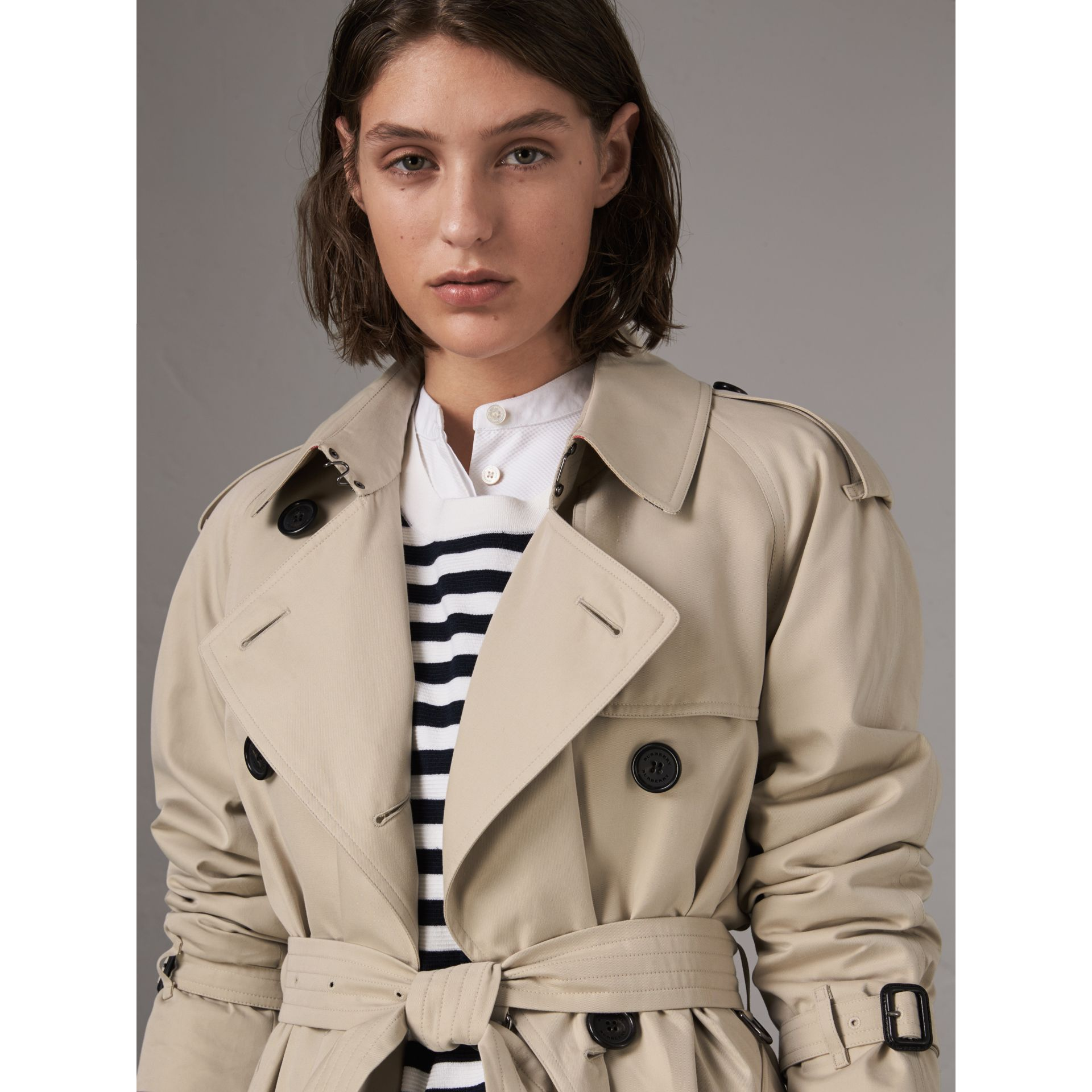 The Westminster – Extra-long Trench Coat in Stone - Women | Burberry - gallery image 5