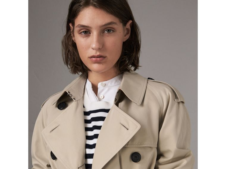 The Westminster - Trench coat extra lungo (Pietra) - Donna | Burberry - cell image 4