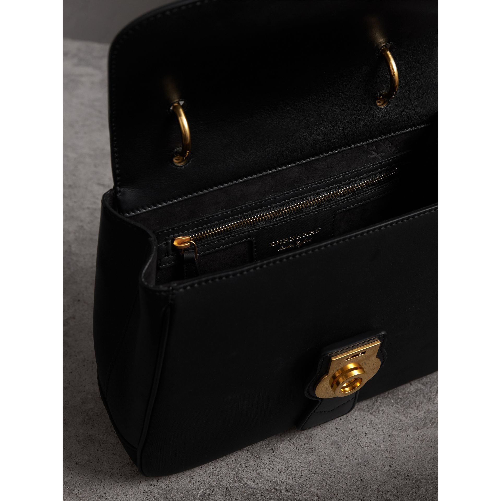 The Medium DK88 Top Handle Bag in Black - Women | Burberry - gallery image 4