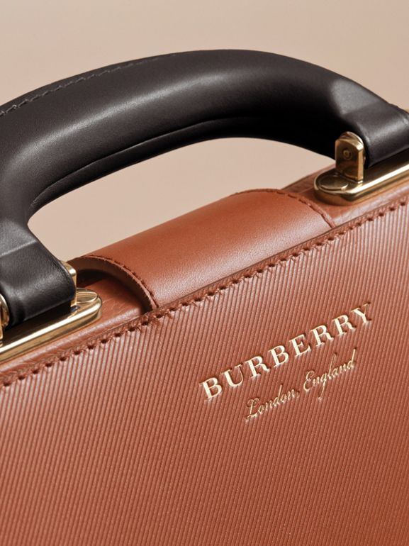 The DK88 Doctor's Bag in Tan - Men | Burberry United Kingdom - cell image 1
