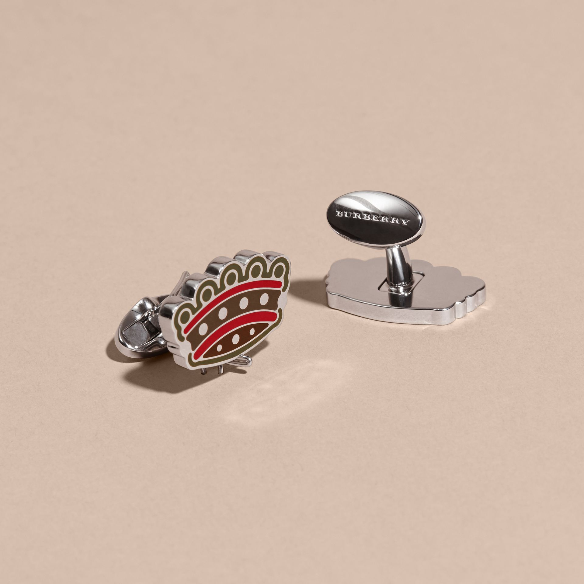 Crown Cufflinks - gallery image 3