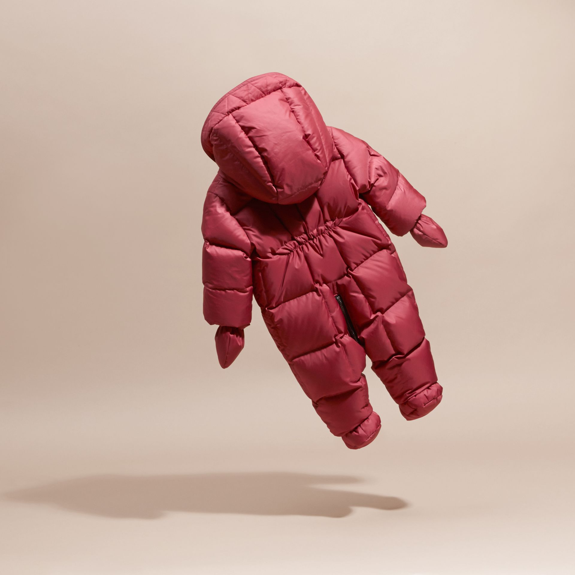 Down-filled Puffer Suit in Peony Rose - gallery image 4