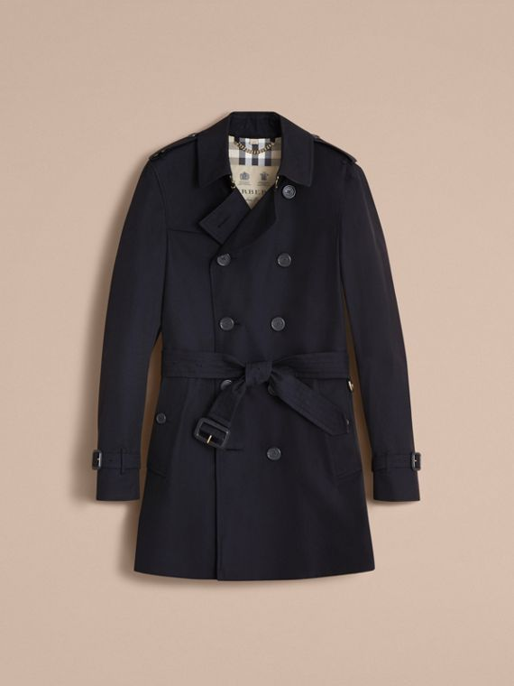 The Chelsea – Mid-length Heritage Trench Coat Navy - cell image 3