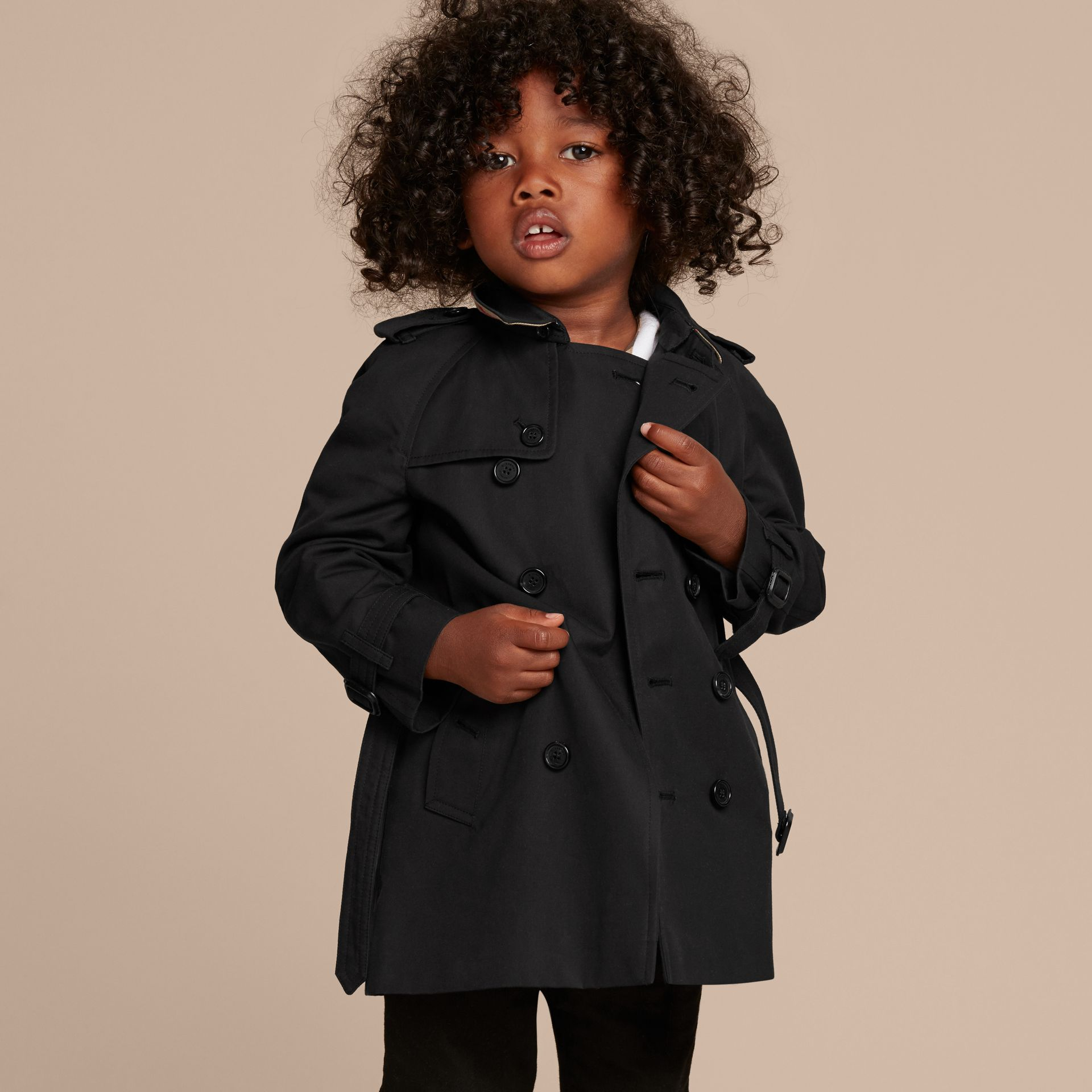 The Wiltshire – Heritage Trench Coat in Black - gallery image 7