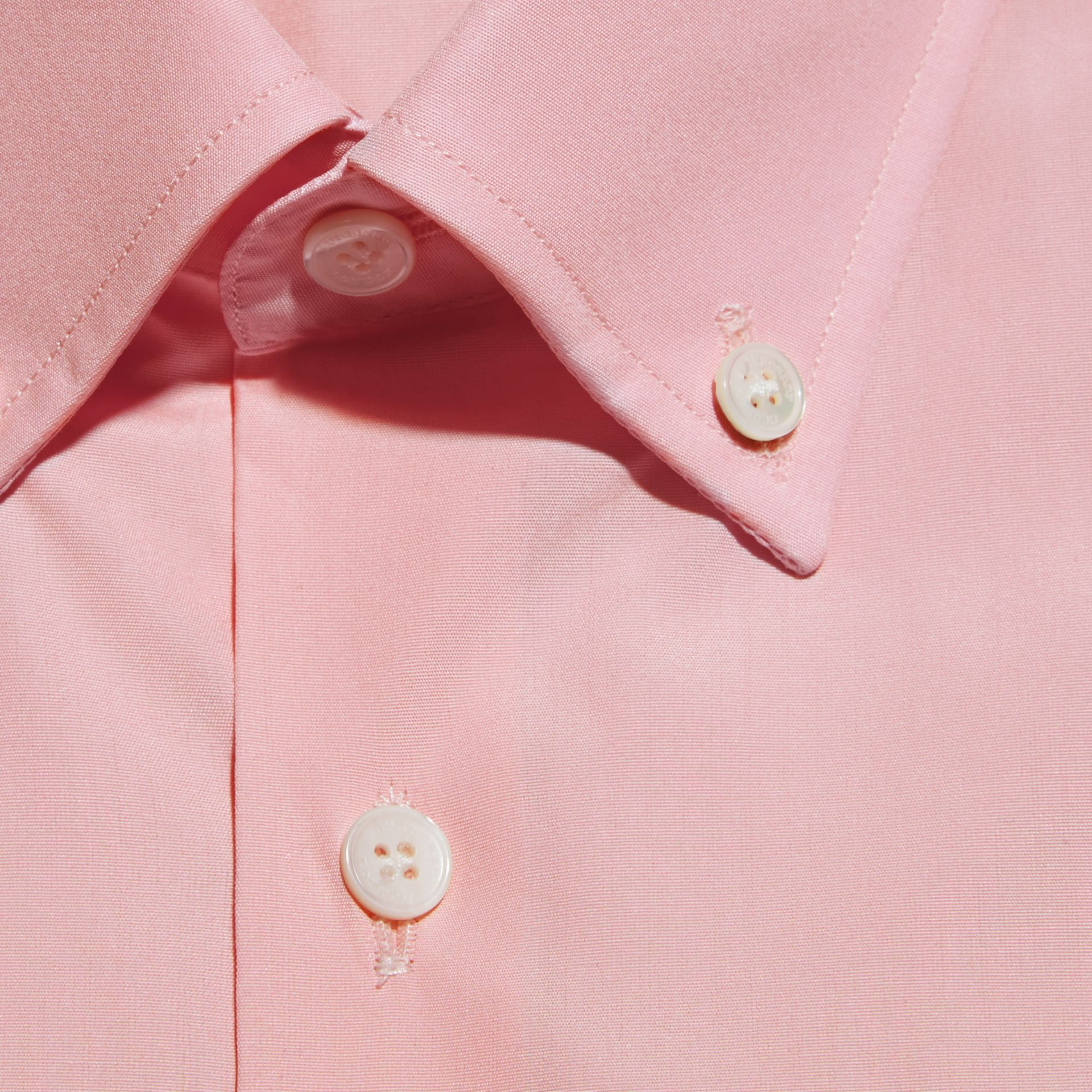 City pink Slim Fit Button-down Collar Cotton Poplin Shirt City Pink - gallery image 2